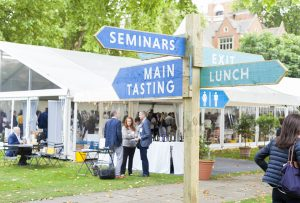 Wine fair marketing