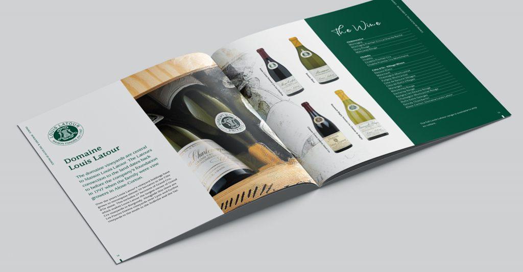 Louis Latour Agencies brochure design