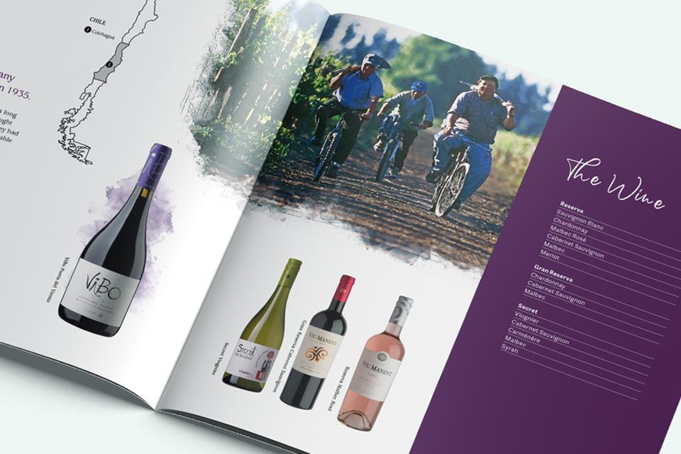 Louis Latour Agencies Print Brochure Design