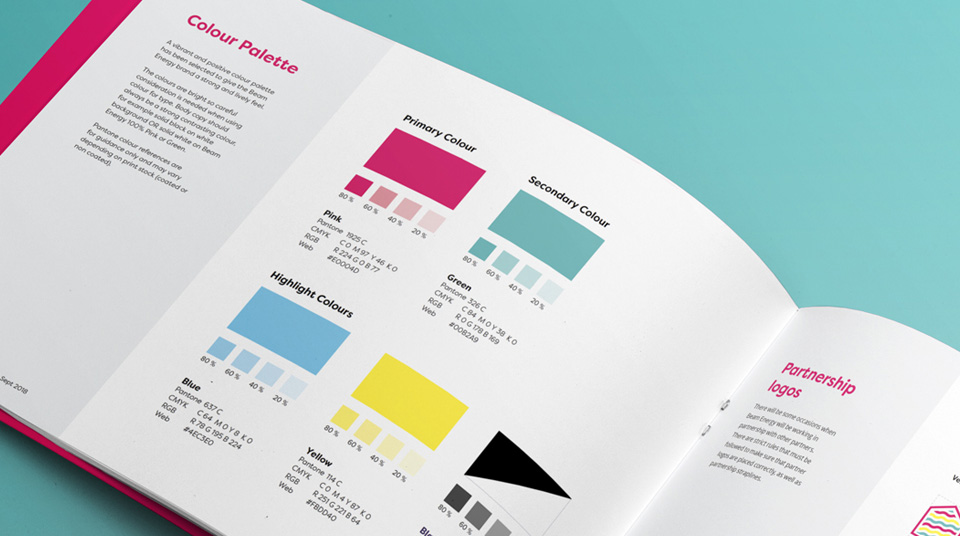 Beam Energy Colour Brand Guidelines